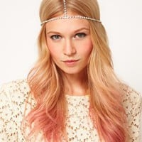 ASOS Crystal Crown Headband at asos.com
