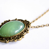 Jade Tea Necklace