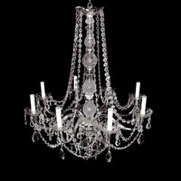 Cast glass crystal chandelier - Chandeliers - Lighting