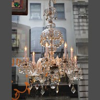 Eight light Waterford crystal chandelier - Chandeliers - Lighting