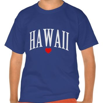 HAWAII LOVE STATE TEE