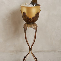Rosecliff Champagne Bucket by Anthropologie Bronze Round House & Home