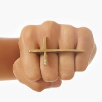 Cross Two-Finger Ring