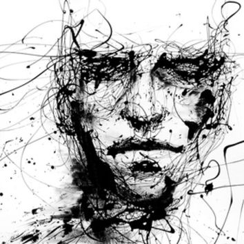 lines hold the memories Art Print by Agnes-cecile