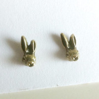 Tiny Bunny Rabbit Earrings
