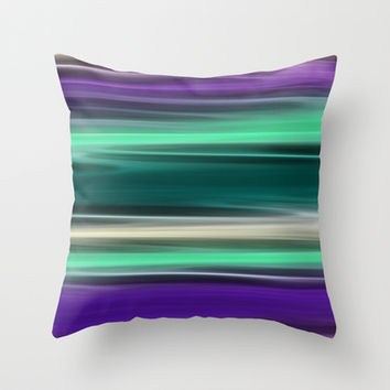 Reflections of Life Throw Pillow by Alice Gosling