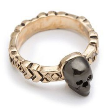 House of Harlow 1960 Engraved Skull Ring | SHOPBOP
