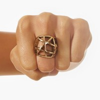 Domed Cage Ring