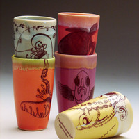 Custom Mini Cup Set / Made to order pottery