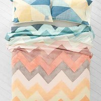 Joanna Goss For DENY Beamscape Duvet Cover- Multi