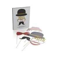 Photo Booth Props (Set of 6)