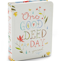 One Good Deed a Day Journal | Mod Retro Vintage Stationery | ModCloth.com