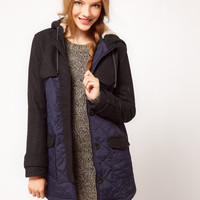 ASOS Wool Mix Swing Jacket at asos.com
