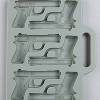 The Freeze! Handgun Ice Tray