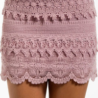 Lace Tiers Skirt $35 (on sale from $50)