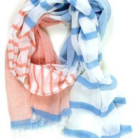 Summer Beach House Scarf: Sky - $14.99 : Spotted Moth, Chic and sweet clothing and accessories for women