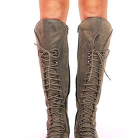 Sand Trooper Boots - Knee High Boots at Pinkice.com