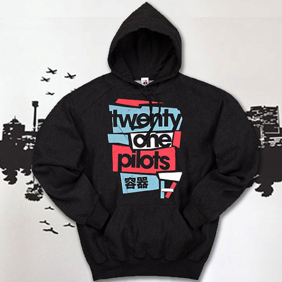 twenty one pilots hoodie unisex hoodie from cekoyotai on. Black Bedroom Furniture Sets. Home Design Ideas