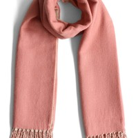 Contract Candy Pink Woolen Scarf