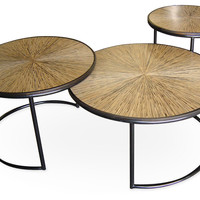 Hallie Cocktail Tables, Set of 3, Coffee Table Base