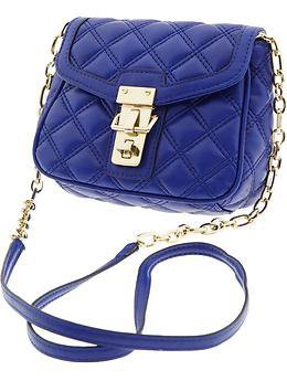 Quilted faux-leather cross-body | Banana Republic