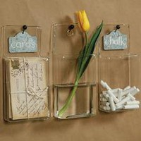 Glass Wall pockets | My Sparrow