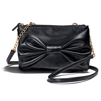 FOREVER selected by Paula Abdul Go Glam Bow Clutch