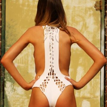 Pacific and Driftwood - The Avry One Piece | Shop Miami Style