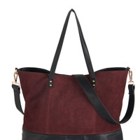 ModCloth Boho Alright, Berry On! Tote
