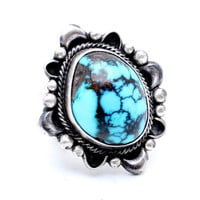 Mother Earth Bisbee Turquoise Ring