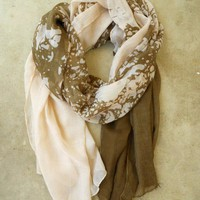 Friends of the Earth Scarf [2254] - $21.00 : Vintage Inspired Clothing & Affordable Summer Dresses, deloom | Modern. Vintage. Crafted.