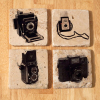 Vintage Camera Coasters Edition 2 (Set of 4)