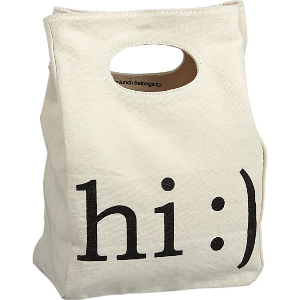 hi lunch bag in outdoor | CB2