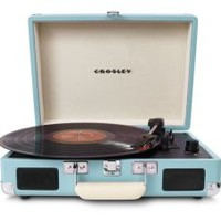 Cruiser Portable Turntable- Turquoise