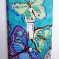 Cool Butterflies Single Toggle Switchplate Switch Plate
