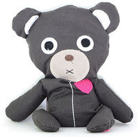 Heated Huggy Bear in Charcoal Grey