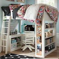 Bella Loft Bedroom | PBteen