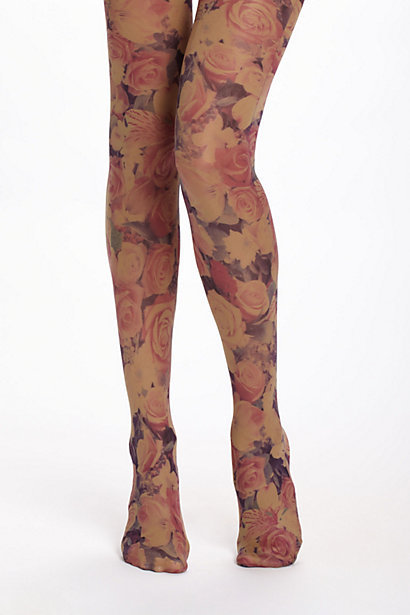Opaque Photoflora Tights