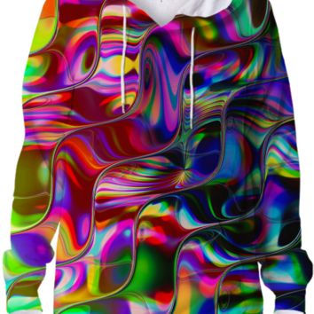 KANIKA Psychedelic Reflection Hoodie created by Webgrrl | Print All Over Me