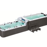 Rectangular swim spa 12-seats BL-859 by Beauty Luxury