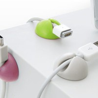 INFMETRY:: Multi Purpose Cable Clips - Office Supplies - Home&Decor