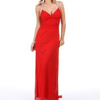 Charelle-Red Homecoming Dress
