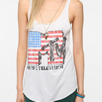 Recycled Karma MTV Flag Tank
