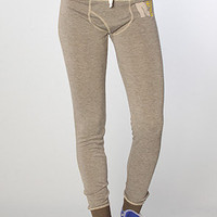The Heavyweight Jersey Slim Lounge Pant in Slate Gray