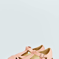 Madison Cutwork TBar Flats