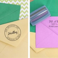Best of 36 Self-Inking Address Stamps! - Personalized