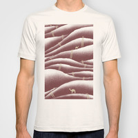 Camels and ladders T-shirt by BarmalisiRTB