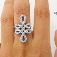 Infinity Cocktail Ring