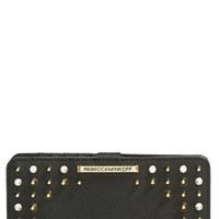 Women's Rebecca Minkoff 'Sophie Snap' Wallet with Studs