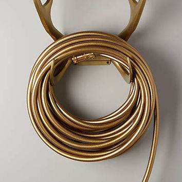 Reindeer Garden Hose Set by Anthropologie Gold One Size House & Home